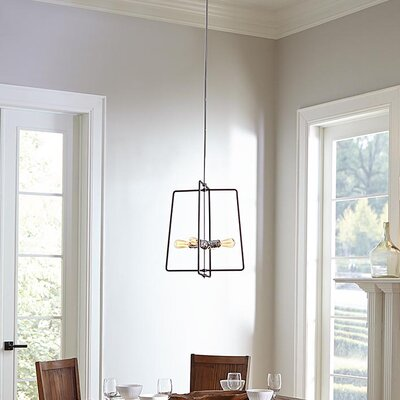 Claussen 4-Light Geometric Pendant