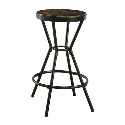 Hardman 24 Bar Stool Color: Black
