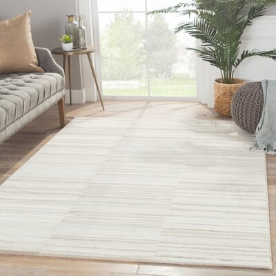 Tanya Brown/Tan/Taupe Area Rug Rug Size: Rectangle 710 x 1010