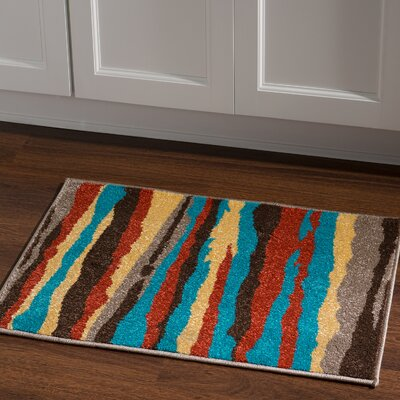 Thorton Turquoise Area Rug Rug Size: Rectangle 2 x 3