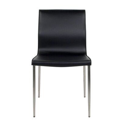 Duran Dining Chair Color: Black