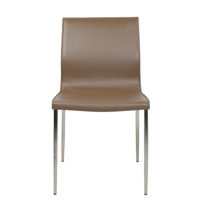 Duran Dining Chair Color: Khaki