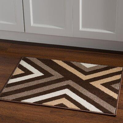 Thorton Brown Area Rug Rug Size: Rectangle 2 x 3