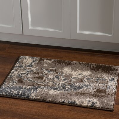 Milam Gray/Beige Area Rug Rug Size: Rectangle 2 x 3