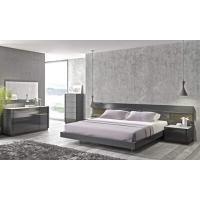 Boyertown Platform Customizable Bedroom Set