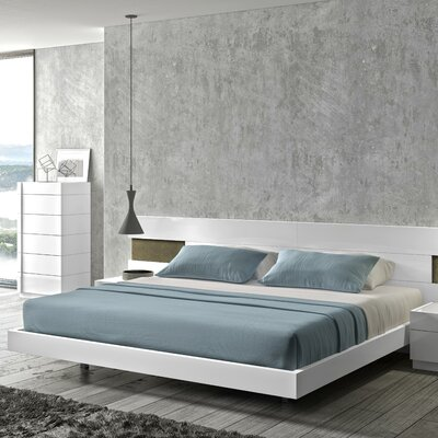 Brackenridge Platform Bed Size: King