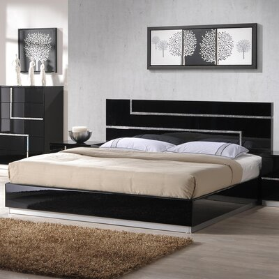 Dalia Platform Bed Size: King
