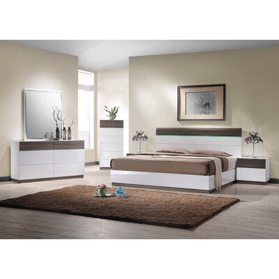 Elida  B Platform Configurable Bedroom Set