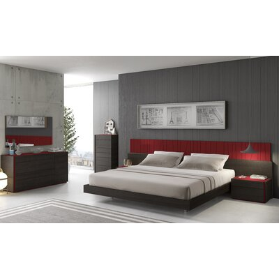 Elida Platform Customizable Bedroom Set