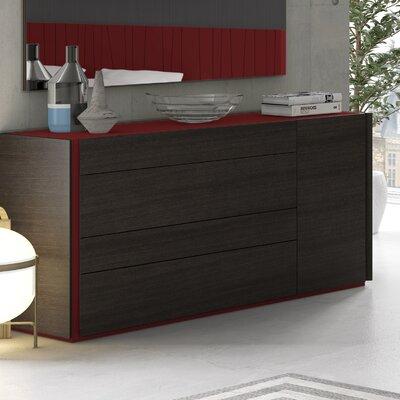 Elida 4 Drawer Dresser