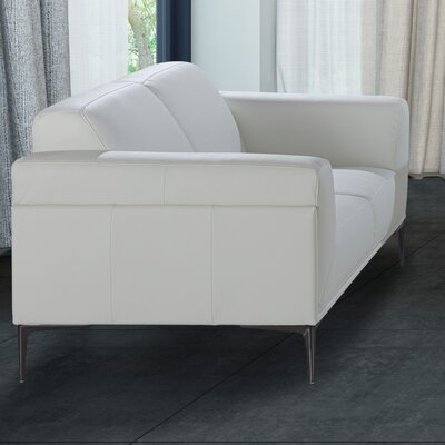 Bridgeville Leather Loveseat