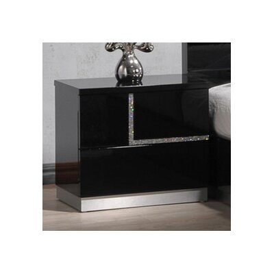 Dalia Left Side Nightstand