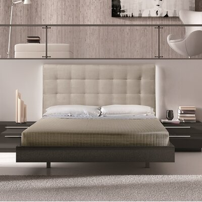 Callery Upholstered Platform Bed Size: King