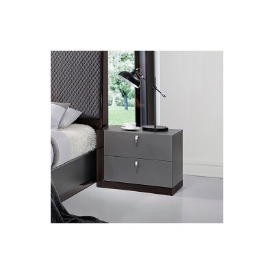 Carmichaels 2 Drawer Nightstand