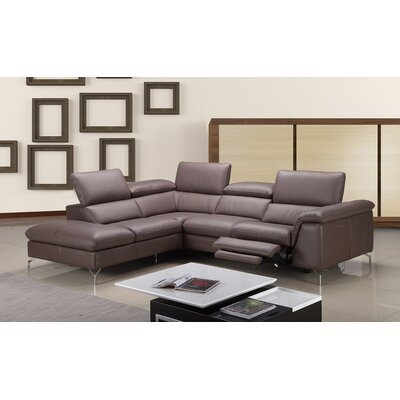 Florie Reclining Sectional Orientation: Left Hand Facing