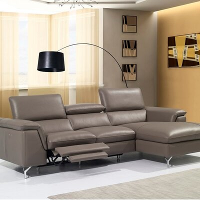 Elenora Reclining Sectional Orientation: Right Hand Facing