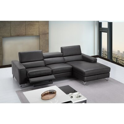 Carrolltown Reclining Sectional Orientation: Right Hand Facing