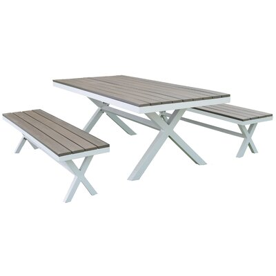 Marlowe 3 Piece Beach Dining Set