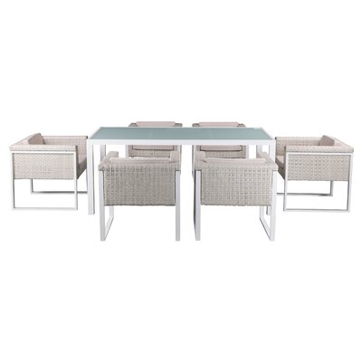 Dragan 7 Piece Kiwi Dining Set