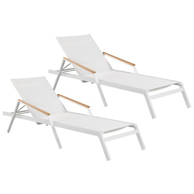 Skylar Lounger Chaise Lounge Set