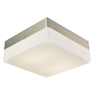 Taryn 2-Light LED Flush Mount Size: 3 H x 7.5 W x 7.5 D