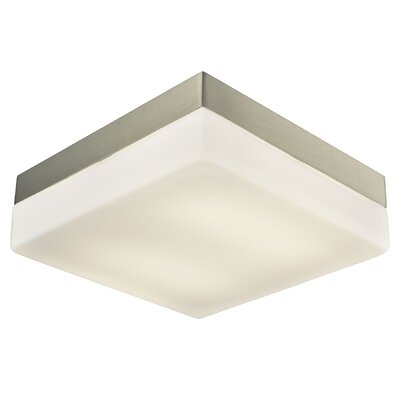 Taryn 2-Light LED Flush Mount Size: 3 H x 9 W x 9 D