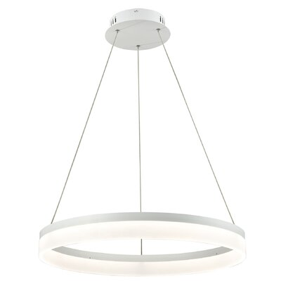Deandra 1-Light LED Geometric Pendant