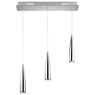 Brighton 3-Light Mini Pendant