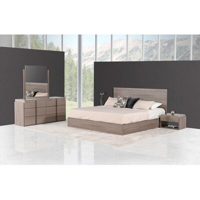 Shaleine Platform Customizable Bedroom Set Size: Queen