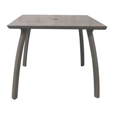 Leighann Square Table Base Finish: Volcanic Black