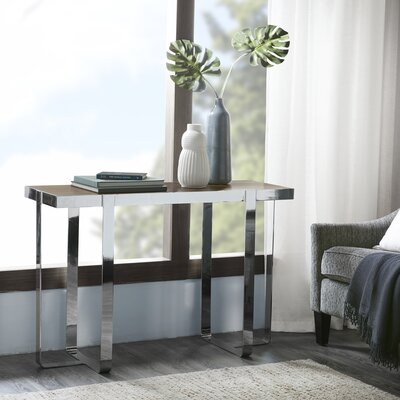 Alverta Console Table Finish: Pine