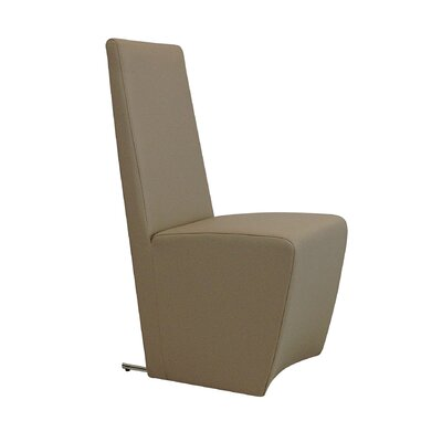Daniels Side Chair (Set of 2) Finish: Taupe