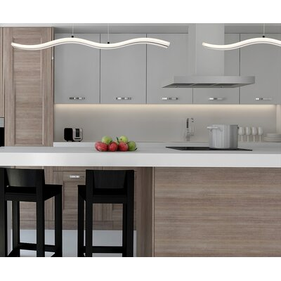 Claudio 1-Light Kitchen Island Pendant