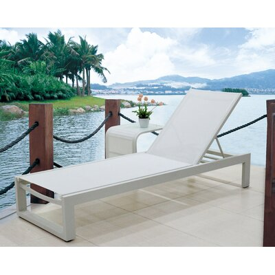 Branchville Premium Outdoor Texilene Chaise Lounge