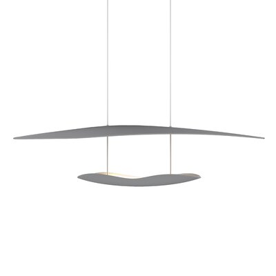 Holden 1-Light LED Geometric Pendant Finish: Dove Gray