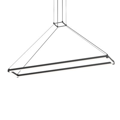 Poythress LED Geometric Pendant Finish: Satin Black
