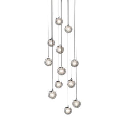 Mata 12-Light LED Cascade Pendant