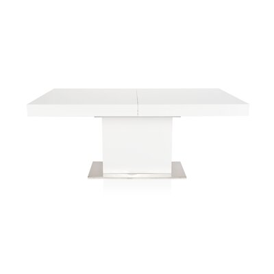 Melfa Extendable Dining Table Base Finish: White