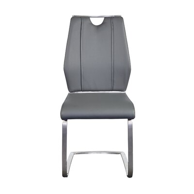 Babin Side Chair (Set of 2) Color: Grey
