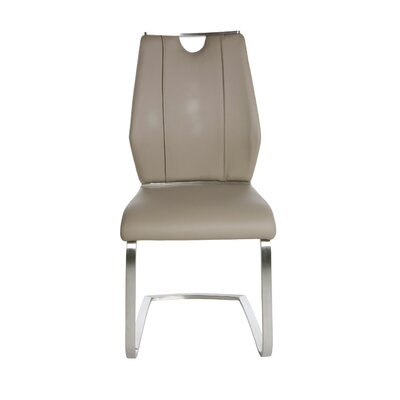 Babin Side Chair (Set of 2) Color: Taupe