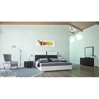Cobbey Platform 5 Piece Bedroom Set Size: Queen