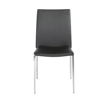 Parlex Dining Chair Upholstery Color: Black