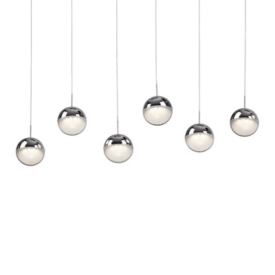 Thane Sphere 6-Light Kitchen Island Pendant