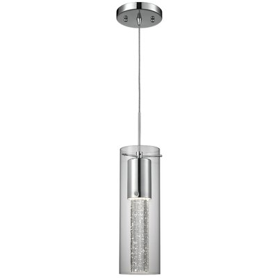 Epstein Bubbles 1-Light Crystal Pendant
