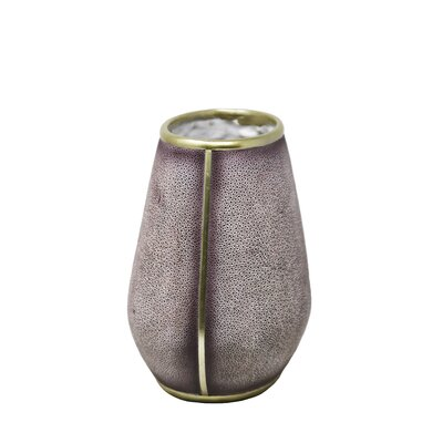 Polyresin Pearl Fish Flower Table Vase OREL4814 40622453