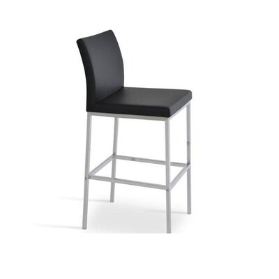 Reasor 30 Bar Stool Color: Black