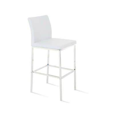 Reasor 30 Bar Stool Color: White