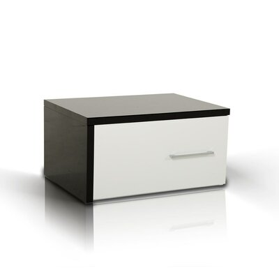 Elettra Modern 1 Drawer Nightstand Orientation: Right