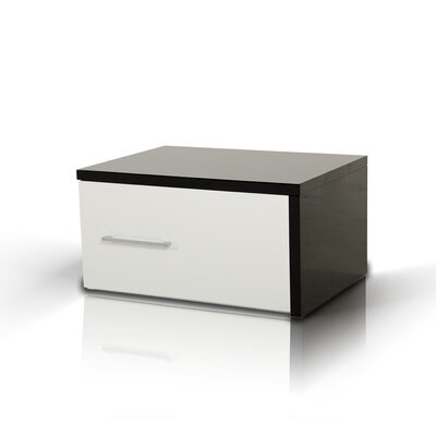 Elettra Modern 1 Drawer Nightstand Orientation: Left