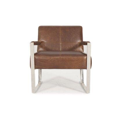 Irvin Top Grain Contemporary Armchair